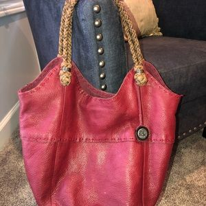 Red The Sak leather purse